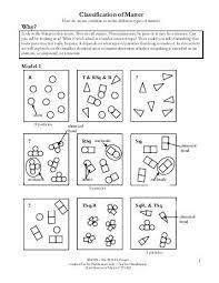 composition of matter worksheet 59 images composition of