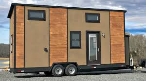 Small Energy Efficient Home Plans 24ft Loft Tiny House Rv Trailer Functional Energy Efficient