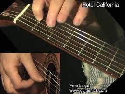video tutorial belajar gitar klasik hotel california acoustic guitar solo guitarnick com