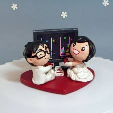 nerdy cake toppers aaah simmons this is one seriously and nerdy