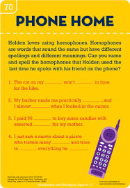 homophone home worksheet education com