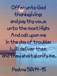 psalm 50 14 15 psalms proverbs psalm 50 bible