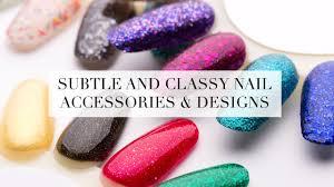 subtle and classy nail accessories u0026 designs calyxta