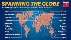 Nba Map Dubai The Next Stop In Nba U0027s Global Games Journey Us Sports