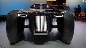 rolls royce vision 100 this driverless rolls royce concept car looks like a batmobile alphr