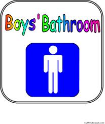 Printable Bathroom Passes Boys Bathroom Photo 5 Design Your Home