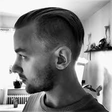 hair cut for men shaved on sides slicked back on top 40 slicked back undercut haircuts for men manly hairstyles