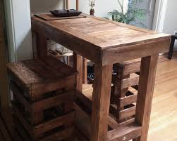 reclaimed wood pub table sets wood bar table reclaimed dark breakfast top live edge ana white pub