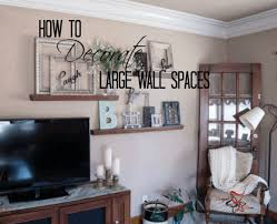 decorate a large wall home design lovely ideas for decorating in