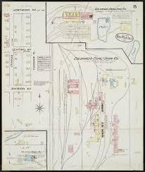 Map Of Pueblo Colorado by Pueblo Colorado Sanborn Fire Insurance Map Collection