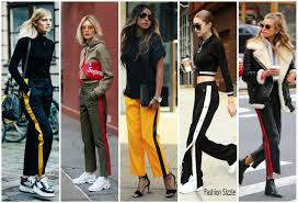 Fashion Sizzlers Archives Fashionsizzle by Stripe Track Pants Fashion Trend For 2017 Fashionsizzle