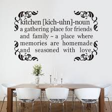 kitchen quote decal a gathering place for friends and family home kitchen quote decal a gathering place for friends and family home wall quote sticker vinyl art 58