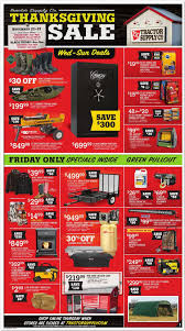 walmart ad thanksgiving day tractor supply black friday 2017 ads deals and sales
