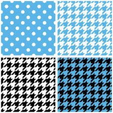 blue pattern background html blue white and black pastel vector tile background set stock vector
