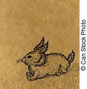 rabbit sketch stock photo images 4 062 rabbit sketch royalty free
