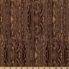 aviary 2 woodgrain bark brown from fabricdotcom designed by joel