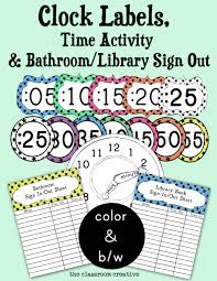 Bathroom Pass Template Free Printable Bathroom Sign Out Sheet