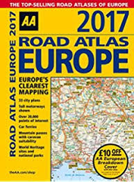 aa road map usa 2017 collins essential road atlas europe co uk collins
