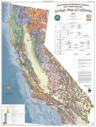 United States Fault Lines Map by Geologic Map Of California By The California Geological Survey