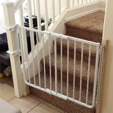 Safety Gate For Top Of Stairs With Banister Safety Gate For Stairs Comparing The Best Baby Gates For Stairs
