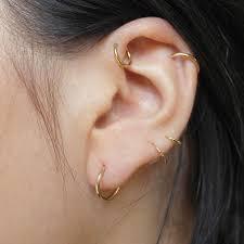 ear piercing hoop pin by walker on ear piercing piercing and ear