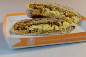 taco bell shows breakfast menu ny daily news