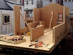 Sips Cabin 6 Ways To Build Framing For Tiny Houses