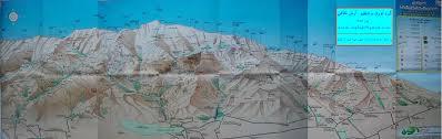 Tehran Map Tehran Mountains Climbing Hiking U0026 Mountaineering Summitpost