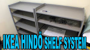 ikea hindo ikea hindö shelving system assembly and review clueless dad