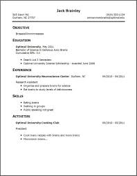Write A Resume With No Job Experience by How To Write A Resume With No Work Experience Free Resume
