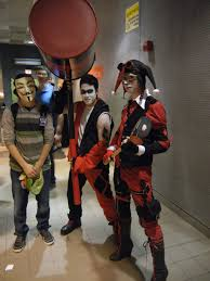 male harley quinn i like the one on the right cosplay