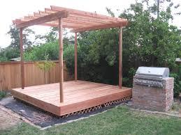 How To Make A Pergola by Building A Pergola Ideas And Decor U2014 All Home Design Ideas