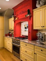yellow kitchen cabinet yellow and red kitchen ideas photogiraffe me
