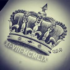 date of birth tattoo i do not like the roman numerals under the crown but the