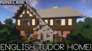 english tudor cottage minecraft english tudor house tutorial youtube