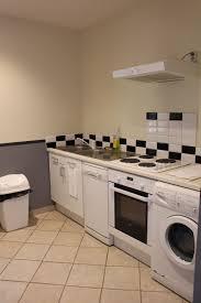cuisine avec lave linge les appartements