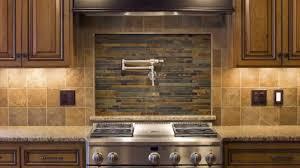 traditional kitchen with brown ceramic smart tile lowes backsplash