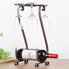 creative wine rack wine holder ornaments wine glass frame bottle
