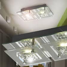 Wohnzimmerlampe Batterie 18w Kaltweiß Led Modern Deckenlampe Ultraslim Deckenleuchte