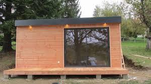 chalet bureau chalet en bois spécialiste des chalets sur mesure sans permis 20 m2