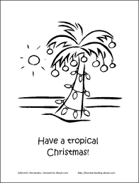 tropical beach coloring pages make your own 12 days of christmas coloring book tropical
