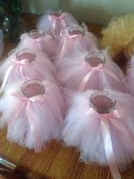 tutu centerpieces for baby shower 7 tutu jars centerpieces ballerina party ideas