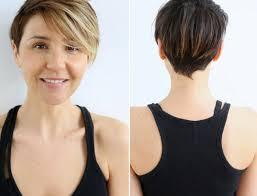 coupe de cheveux court dã gradã coiffure courte chatain lannaginasisi web