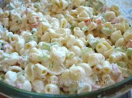 creamy southern pasta salad drick u0027s rambling cafe