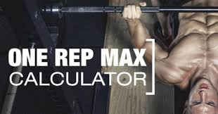 Bench Press Calculater Calculate Your One Rep Max For Squats Deadlifts And Bench Press