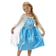 princess costumes for halloween amazon com frozen disney frozen elsa new blue dress toys u0026 games