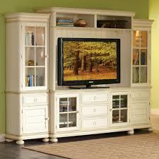 living room furniture shabby chic broken white entertainment media