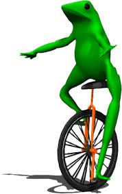 Unicycle Meme - dat boi transparent template dat boi know your meme