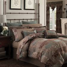Jcpenney Bed Set Croscill Classics Catalina Brown 4 Pc Chenille Comforter Set