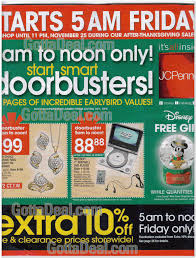 jcpenney 2005 black friday ad black friday archive black
